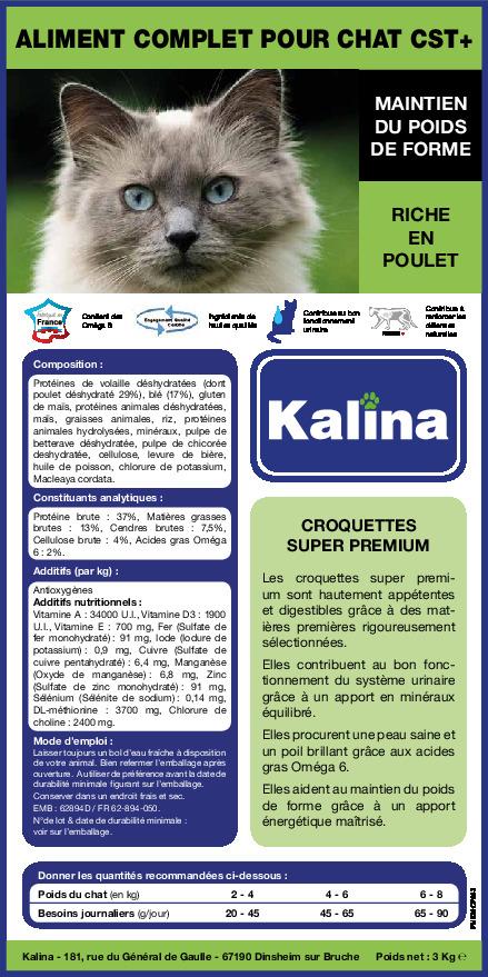 kalina cst+