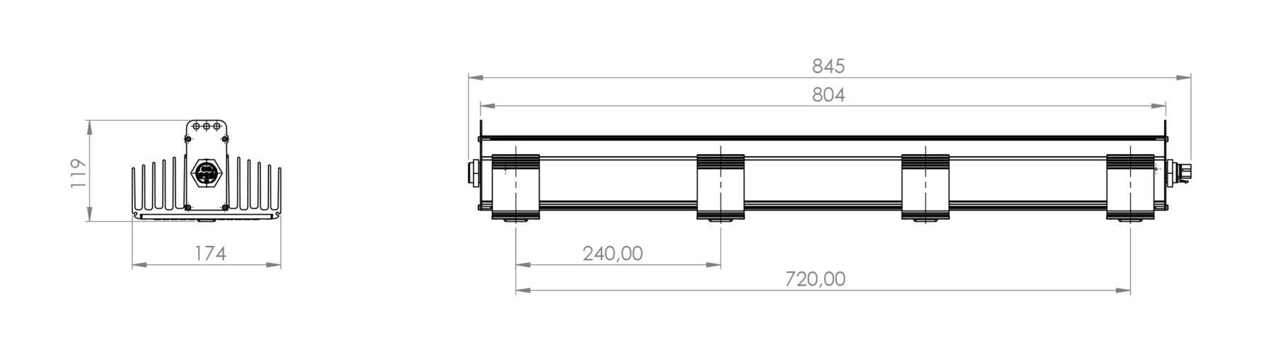 QWL Technische Zeichnung