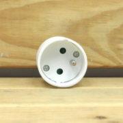 Accessoire Électrique Éclairage - FICHE FEMELLE BLANCHE 230V 16A 3680W