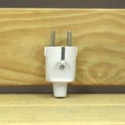 Accessoire Électrique Éclairage - FICHE MÂLE BLANCHE 230V 16A 3680W