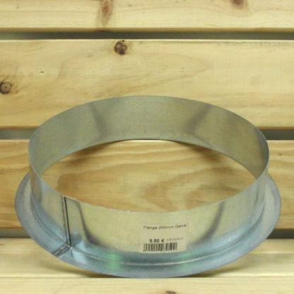 Accessoire Gaine - Flange Galvanisée 200mm