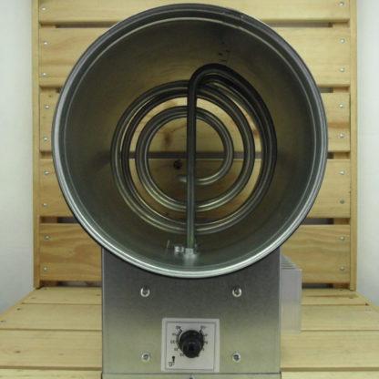Accessoire Gaine Vents - CHAUFFAGE 200mm 1200W 150m³/h 50°C