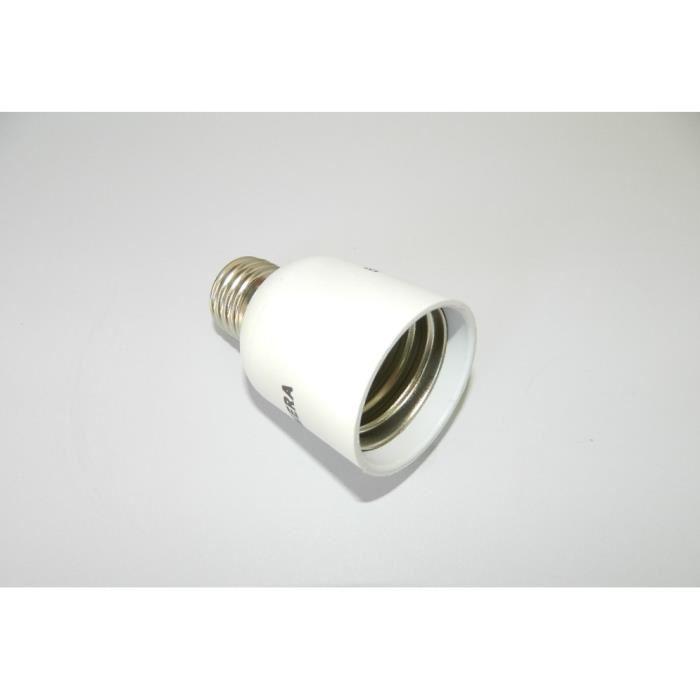 adaptateur culot e40 vers e27 douille ceramique