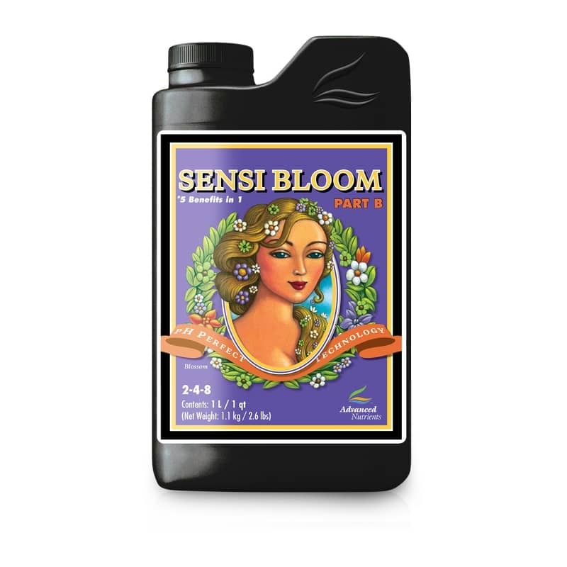 advanced nutrients phperfect sensi bloom partb auxine jardinerie alternative colmar
