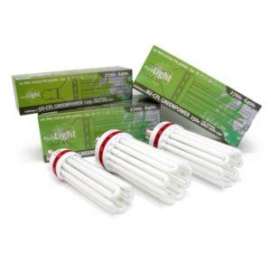 ampoule CFL eco horticole full spectrum croissance et floraison grow and bloom greenpower ilubom ilubom ilubom