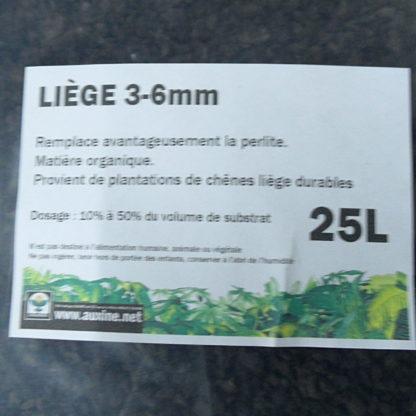 Auxine - SAC ❑25L LIÈGE 3 à 6mm