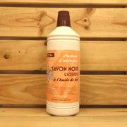 œBio Naturella - Savon Noir à l'huile de lin 1L