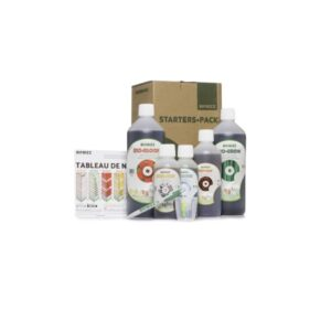 biobizz starters pack content fr engrais indoor auxine jardinerie alternative colmar