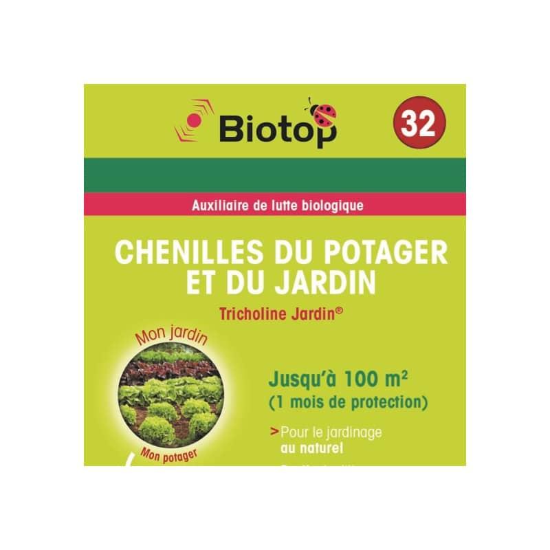 biotop bioline insectes auxiliaires tricholine jardin