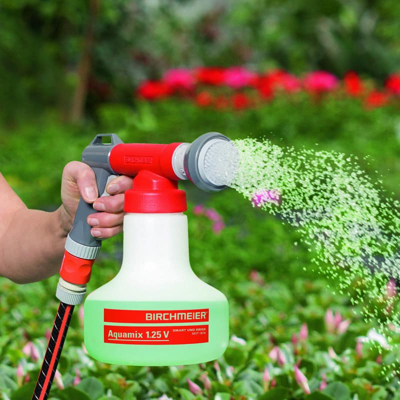 birchmeier arrosage aquamix dosage reglable engrais liquide auxine jardinerie alternative colmar