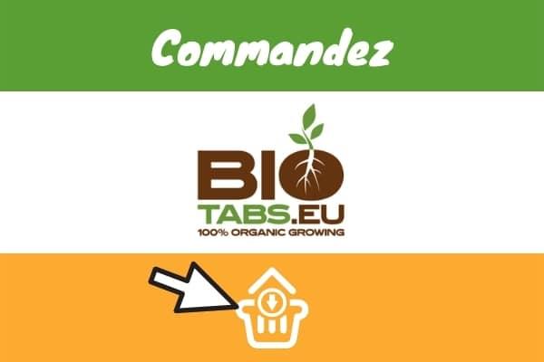 commander engrais biotabs