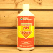 Correcteur pH General Hydroponics - pH Down Acide 1L