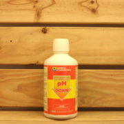 Correcteur pH General Hydroponics - pH Down Acide 500mL