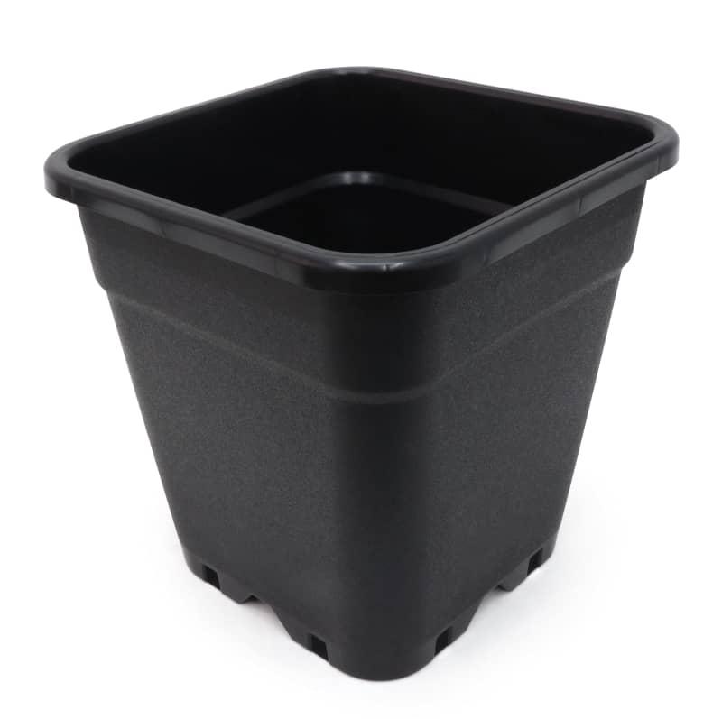 culmybmcu pot carre pure pot noir litres xxcm auxine jardinerie alternative colmar