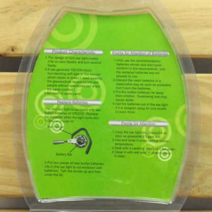 Éclairage Horticole - LAMPE OREILLETTE LED VERTE - MINI EAR LIGHT