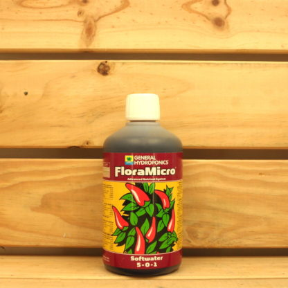 Engrais General Hydroponics - FloraMicro Softwater 500mL