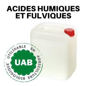 engrais liquide acides humiques et fulviques extrait de leonardite