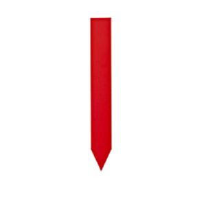 etiquette de couleur a piquer rouge