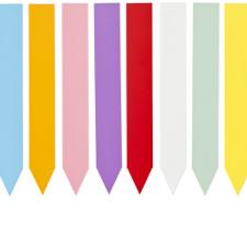 etiquette de couleur a piquer