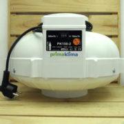 Extracteur Aéraulique 2 Vitesses PrimaKlima PK150-2 - 150mm - 390m³/h ou 760m³/h - 108W