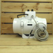 Extracteur Aéraulique Contrôlé Température Vents TT125Un - 125mm - 280m³/h - 37W