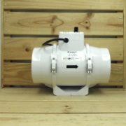 Extracteur Aéraulique Vitesse Réglable Vents TT125P - 125mm - 280m³/h - 37W