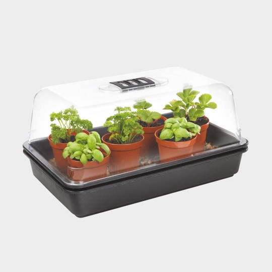 germination stewart serre essentials electrique chauffee 38x24x18cm 230v 8w