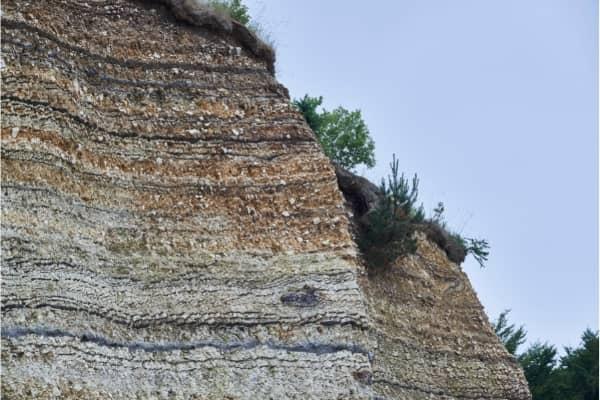 gisement de terre de diatomee