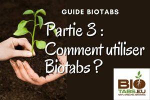 guide biotabs partie 3