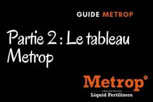 guide metrop partie tableau metrop