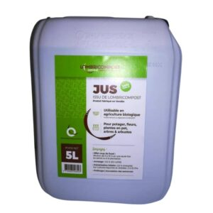 jus lombricompost lombrijus jardinat bidon L