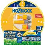 kit tuyau mm tricoflex ultimate hozelock avec raccords et lances