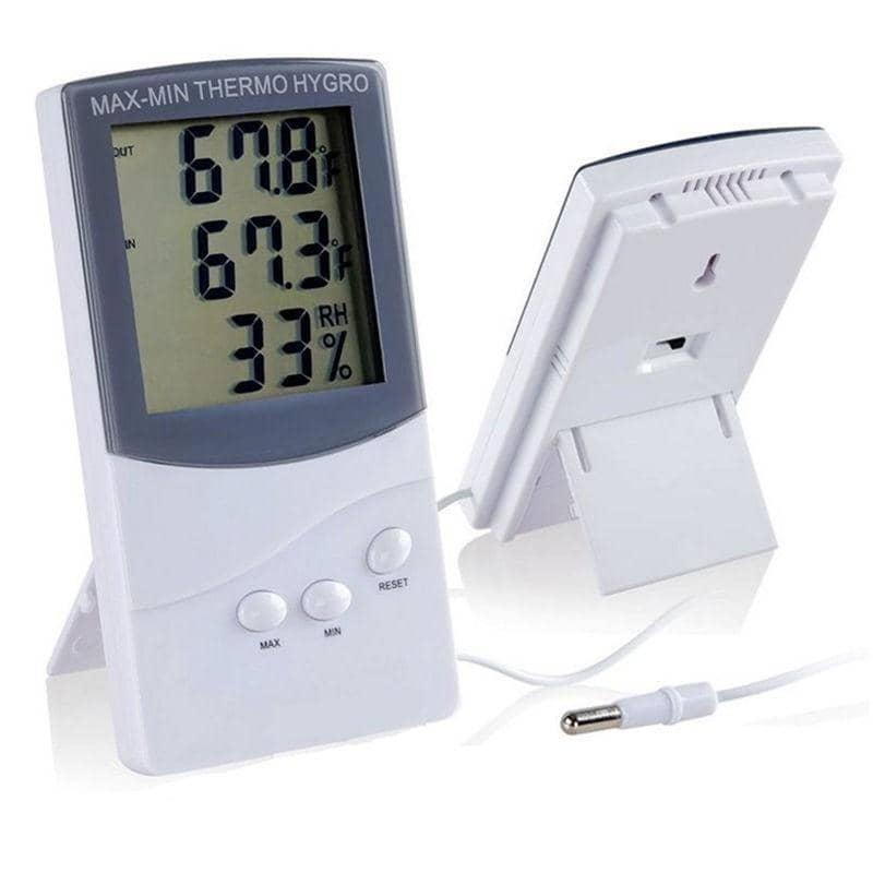 ktj ta thermometre hygrometre digital a sonde externe culture indoor growshop
