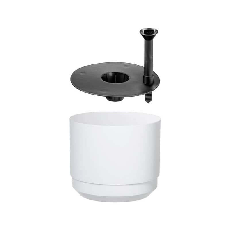 orthex paulina cm blanc pot a reserve d eau