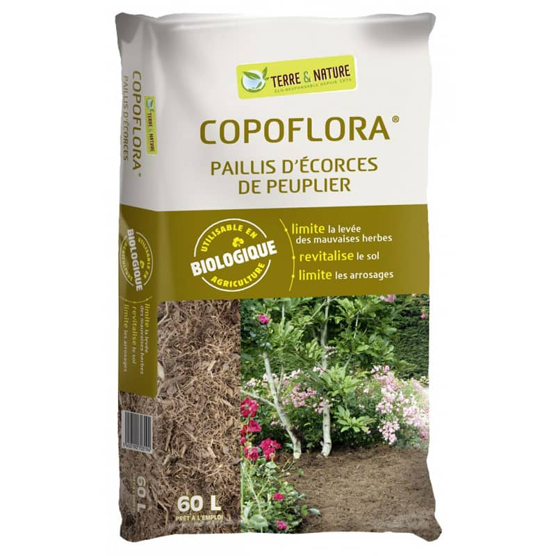 paillis naturel copoflora paillage fibre de peuplier