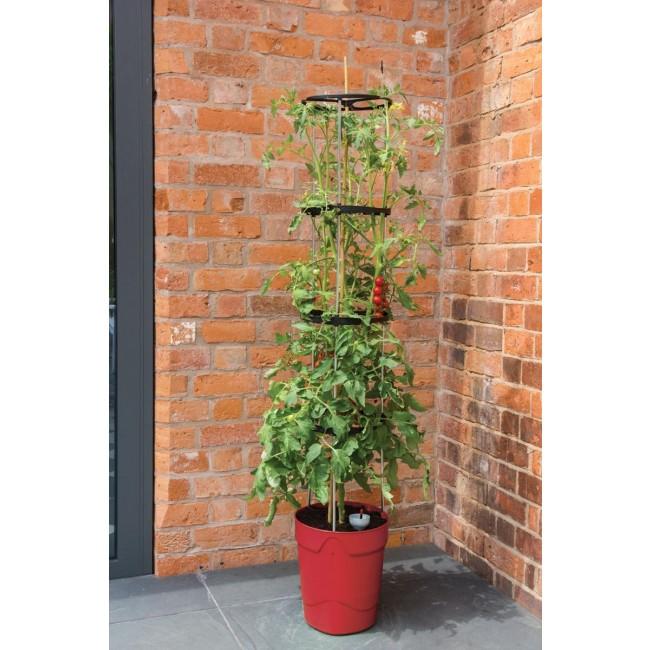 pot a reserve deau grow pot tower rouge garland