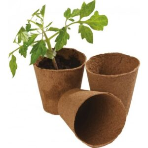 pot en tourbe garland w pack de pots de diametre cm