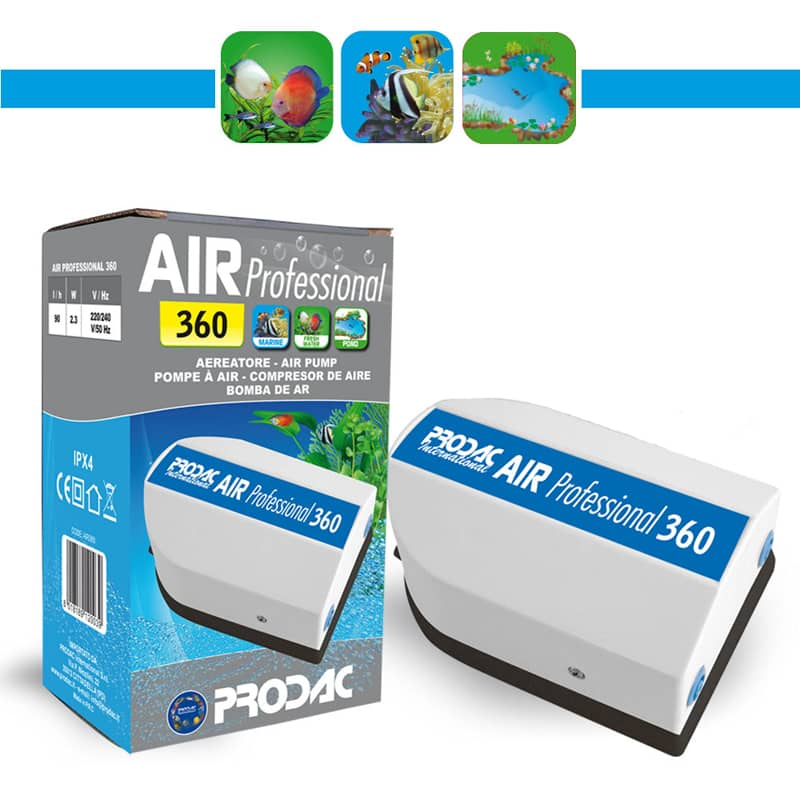 prodac pompe a air professional