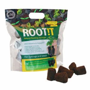 propagation vegetale rootit 50x eponges de bouturage germination 1