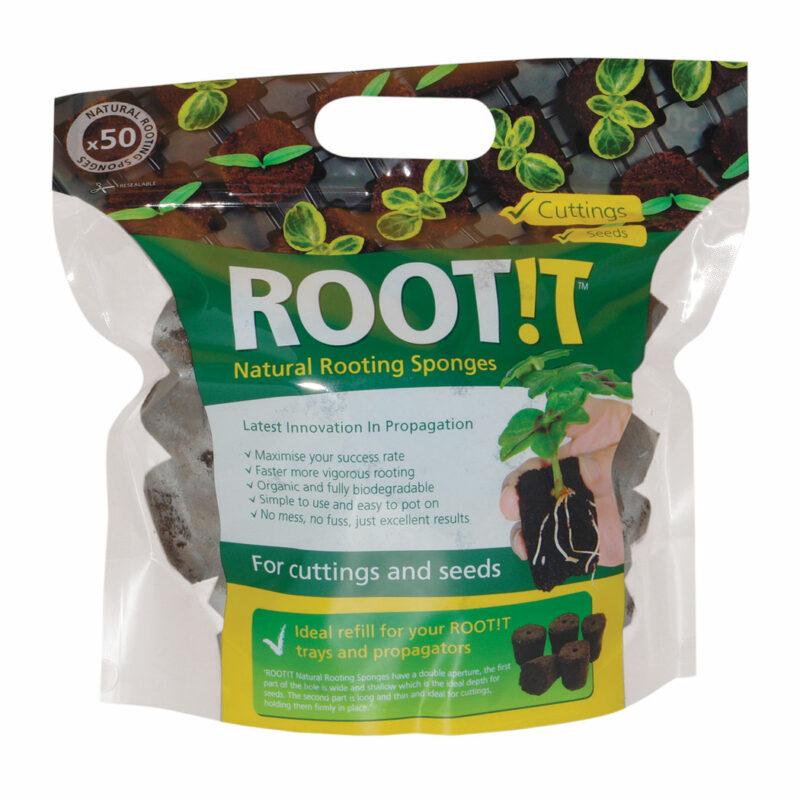 propagation vegetale rootit 50x eponges de bouturage germination 2