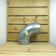 Raccord Aéraulique - Dérivation en L de ventilation Coude 125mm