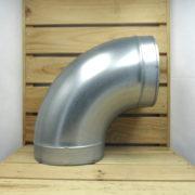 Raccord Aéraulique - Dérivation en L de ventilation Coude 200mm