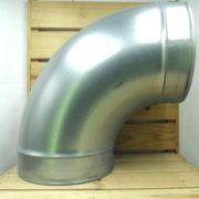 Raccord Aéraulique - Dérivation en L de ventilation Coude 250mm