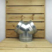 Raccord Aéraulique - Dérivation en Y de ventilation 160mm
