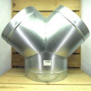 Raccord Aéraulique - Dérivation en Y de ventilation 250mm