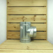 Raccord Aéraulique - Dérivation en T de ventilation 125mm