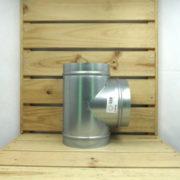 Raccord Aéraulique - Dérivation en T de ventilation 160mm