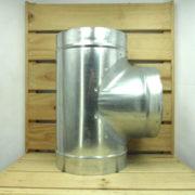 Raccord Aéraulique - Dérivation en T de ventilation 200mm