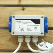 Régulation Électrique GSE - RELAY BOX 2X PRISES - 2X 3000W 2X 16A 230V