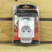 Régulation Électrique Humidité Cornwall Electronics - PRISE HYGROSTAT INVERSABLE 230V 16A 3680W